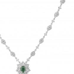 Emerald Bloom Necklace