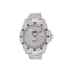 Rolex GMT Master with Diamonds